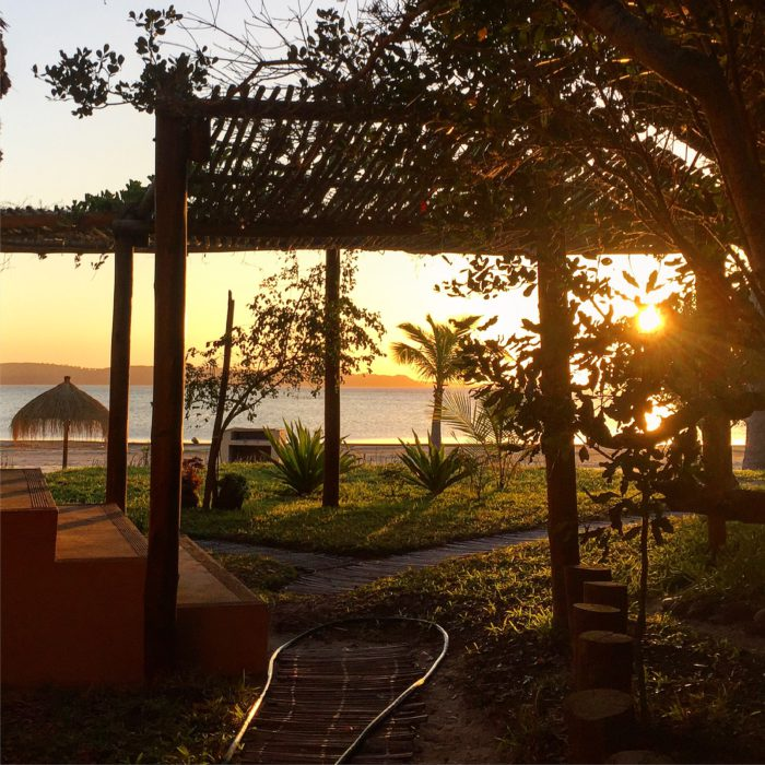 Sunset in Mozambique